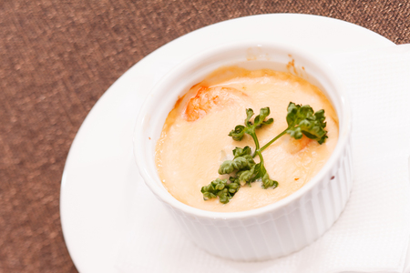 roasting pan: casserole Stock Photo