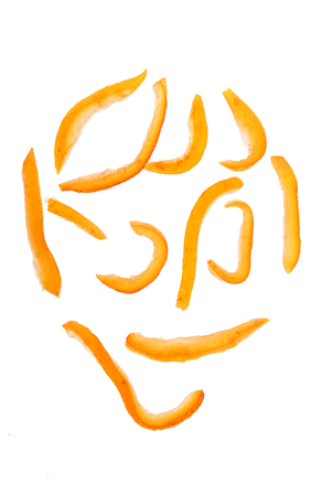 citrons: orange citrons