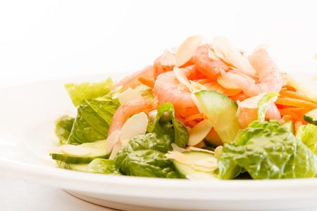 insalata con gamberi