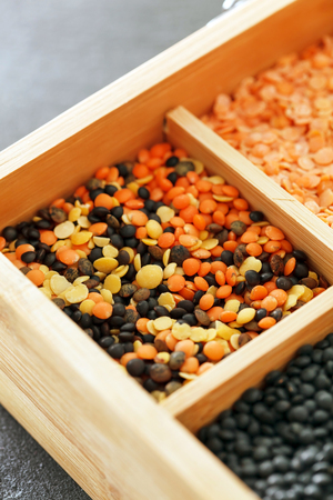 dried lentils 版權商用圖片