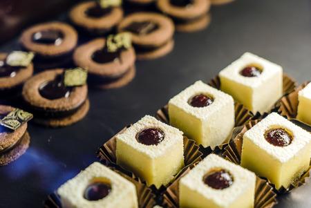 set of pastries Stock Photo