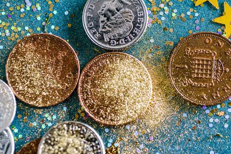 english coins Stock Photo