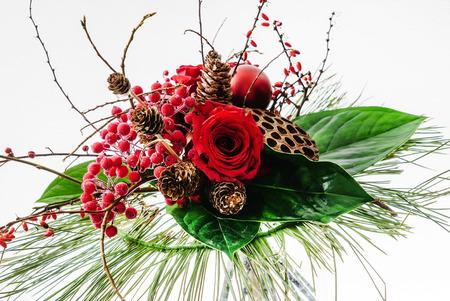 winter bouquet Stock Photo