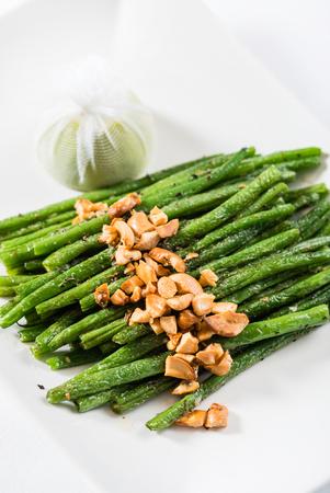 greenbeans: roasted green beans