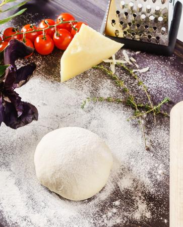 dough: pizza dough