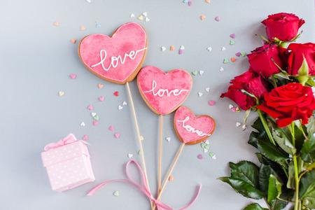quarz: cookie for Valentine day