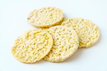 puffed corn snack
