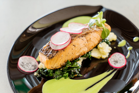 baked: baked salmon