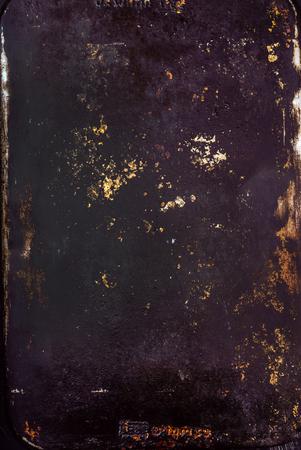 old oven baking sheet grunge background Stock Photo