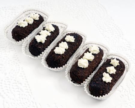 chocolate pastry Imagens