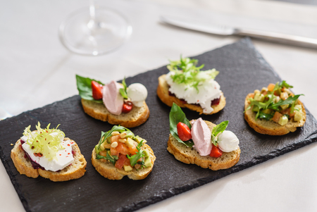 different kinds of canape