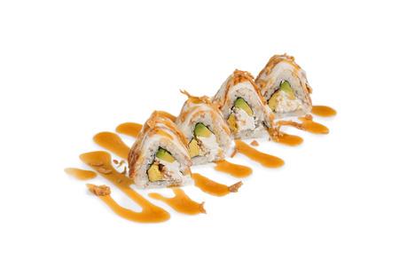 sushi isolated on the white Reklamní fotografie