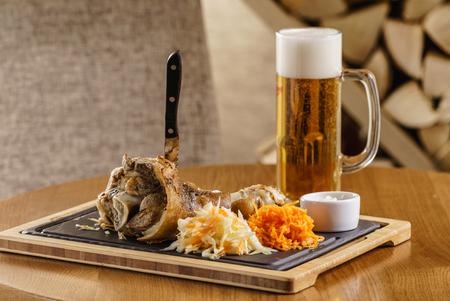 knuckle of pork with beer