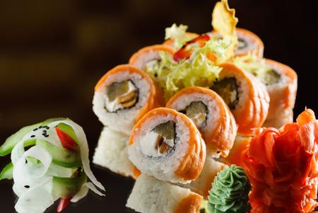 Gustoso sushi Archivio Fotografico - 78188985