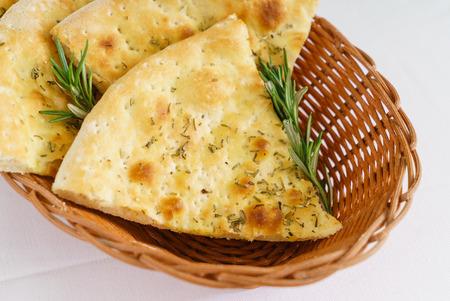 italian bread with rosemary
