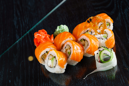 tasty sushi Stok Fotoğraf