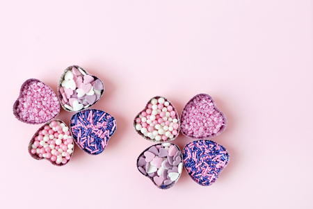 sugar hearts Reklamní fotografie