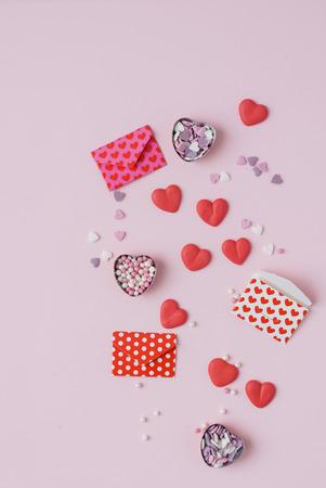 sugar hearts Stock Photo