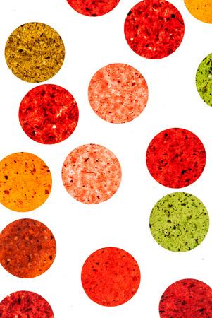 fruit circles Stock Photo
