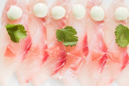 tasty sashimi Stock Photo
