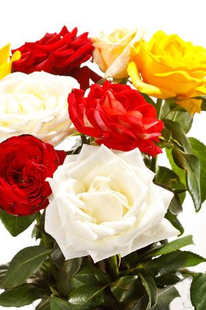 Bunch of beautiful roses Stock fotó