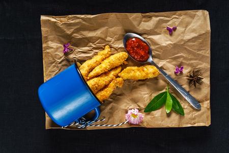 fried cheese Фото со стока - 80059833