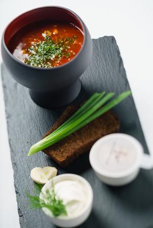 ビートルートスープ