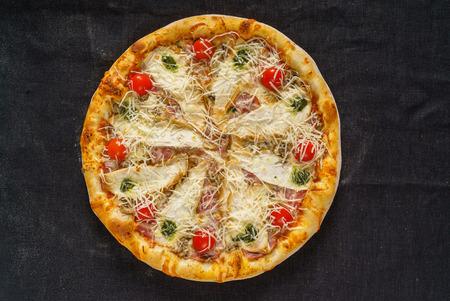 おいしいピザ 写真素材 - 80878559