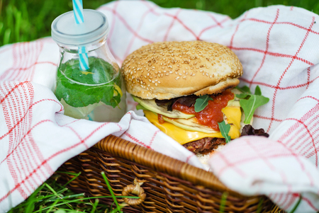 summer picnic Stock Photo - 80958154