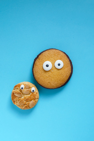 funny cookies Stok Fotoğraf