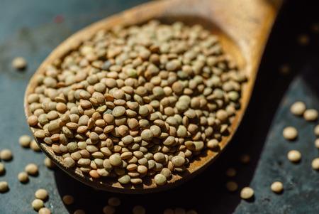 green lentil Foto de archivo