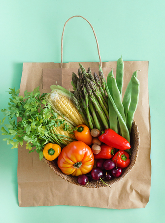 新鮮な野菜や果物