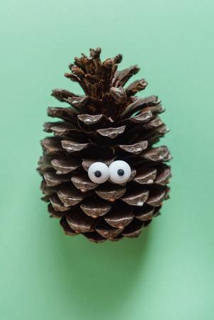 funny pine cone