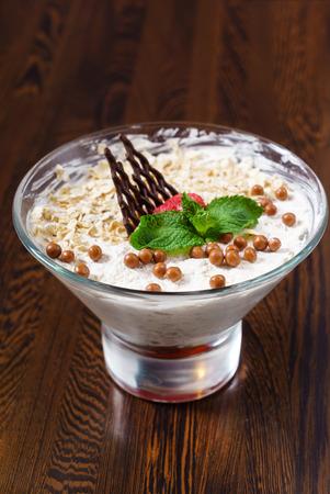 bessen dessert Stockfoto