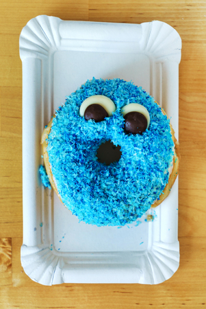 funny donut Stok Fotoğraf