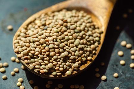 green lentil Imagens