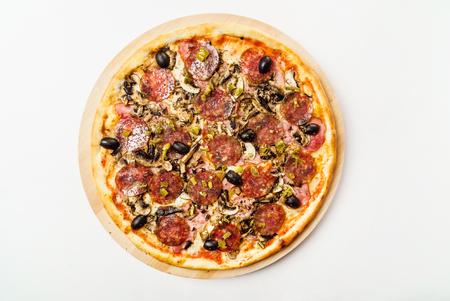 tasty pizza Banco de Imagens - 81518005