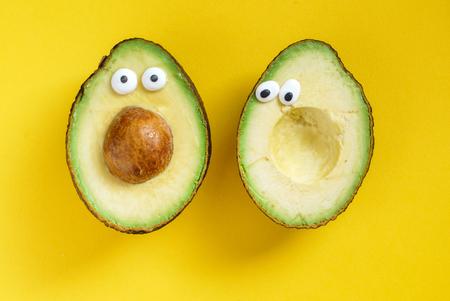 Lustige avocado Standard-Bild - 81518017