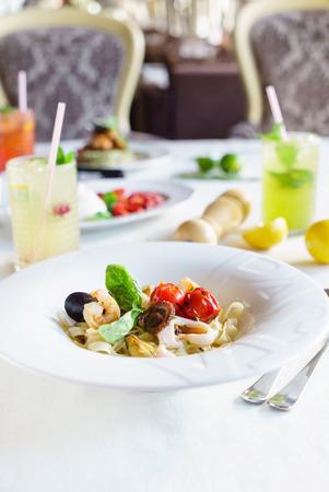 zeevruchten pasta