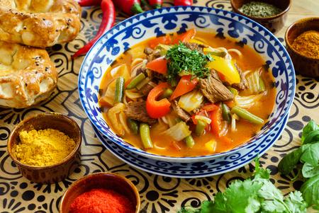 ウズベク語スープ