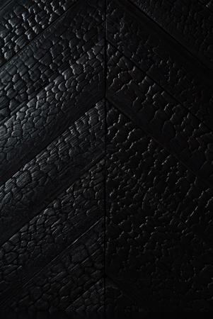 Noir brûlé texture en bois Banque d'images - 82569675