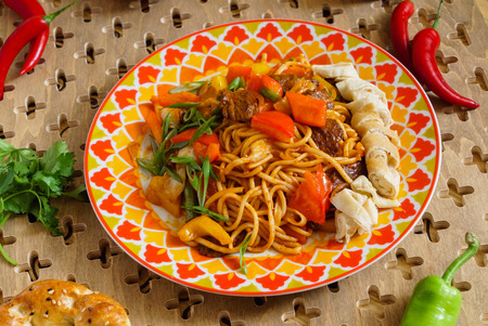 asian food Stock Photo