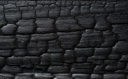wooden burnt texture