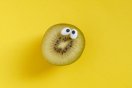 funny kiwi fruit