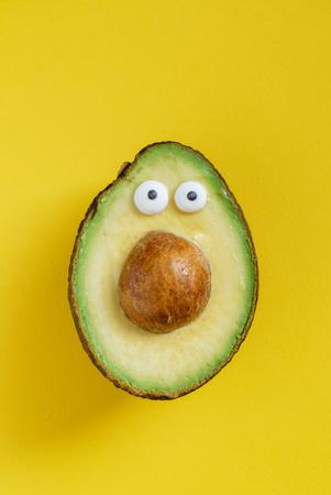 funny avocado 版權商用圖片