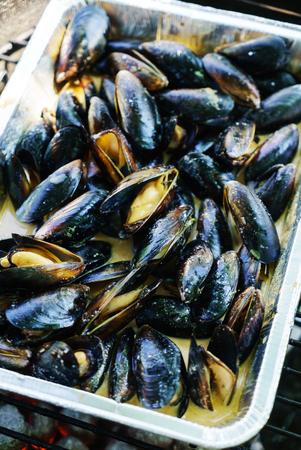 ムール貝のグリル