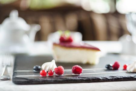 베리 치즈 케이크