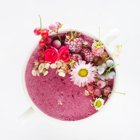 berry smoothie Фото со стока