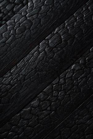 Noir brûlé texture en bois Banque d'images - 83108830