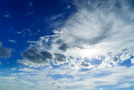 素敵な雲 写真素材